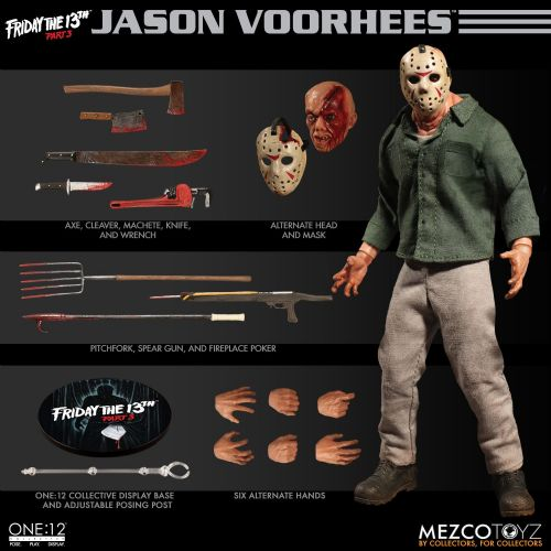 ** Pre-Order ** Mezco One:12 Collective Friday the 13th Part 3 Jason Voorhees